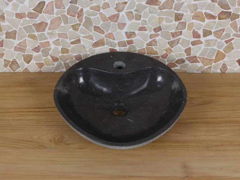 Wastafel marmer diameter 45 cm BE-4008 BBmk