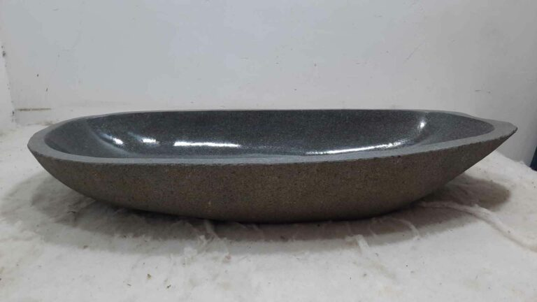 Wasbak natuursteen kiezel RXXL0711
