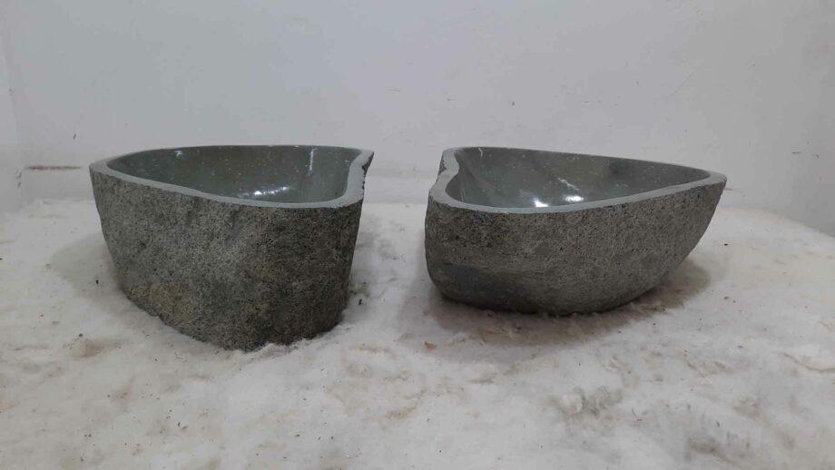 Waskommen riviersteen set RM0707 AB