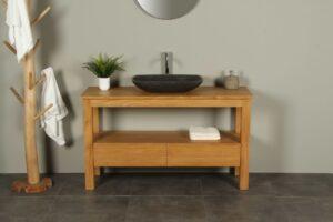 Badkamermeubel 140 cm hout Console table