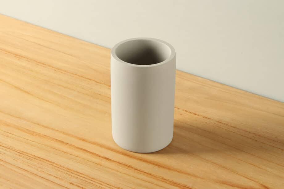 Beker mat betonlook polyresin BE-AB003