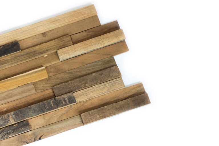 3D houtstrip