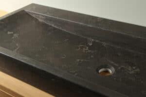 Natuursteen wasbak 140 cm BE-032-zk