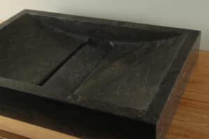 Hardsteen wasbak 60 cm BE-002zk