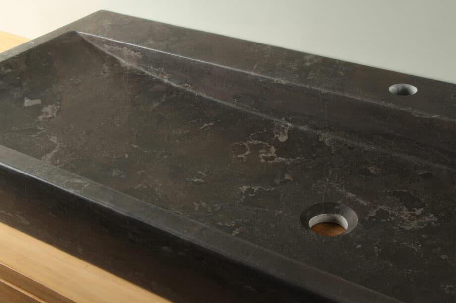 Chinees hardstenen wasbak 120 cm BE-004-1k