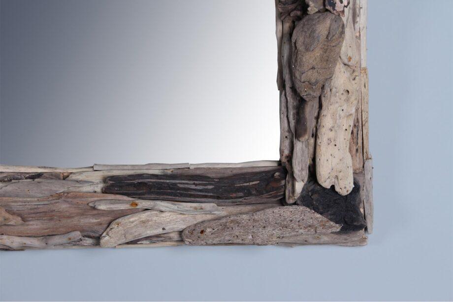 Spiegel drijfhout 100x60 cm.