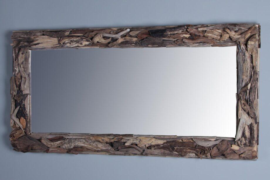 Spiegel sloophout 160x80 cm.