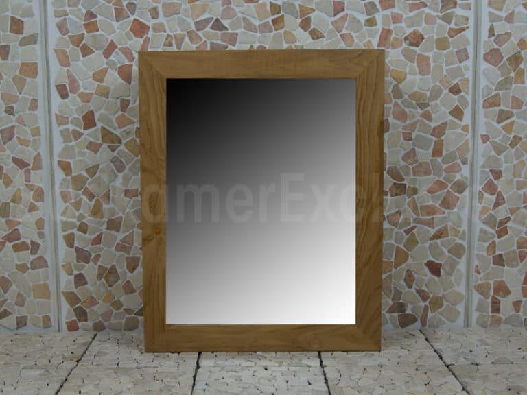 Teakhouten Spiegelkast 75*60*12.5 cm.