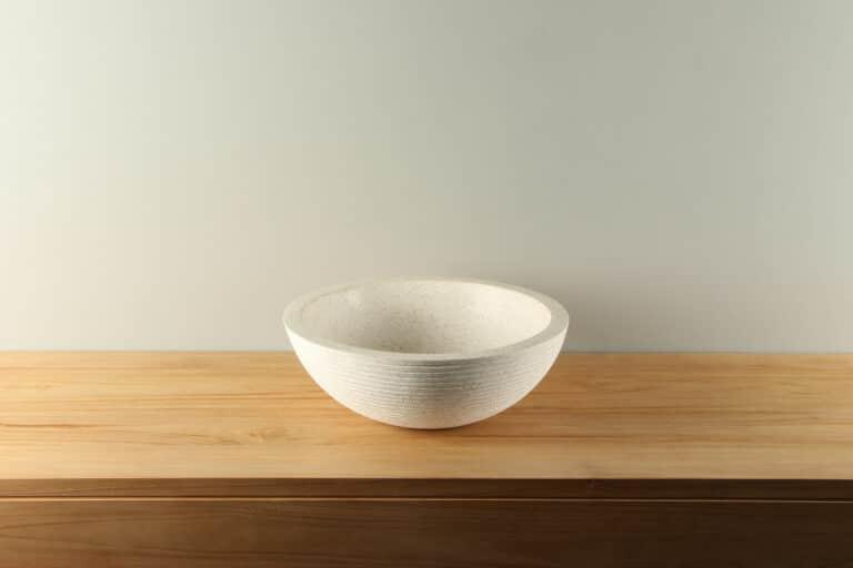 Terrazzo waskom crème diameter 40 cm TZS 028SL