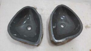 Wasbakken natuursteen set RM0826 AB