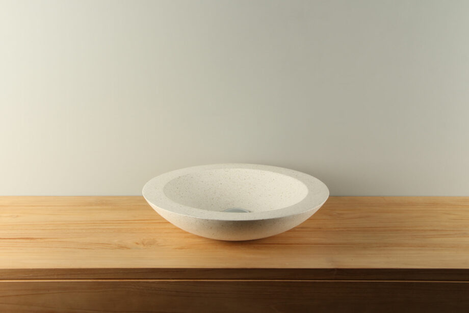 Terrazzo Waskom TZS 017S Crème diameter 45 cm
