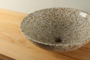 Waskom natuursteen 42 cm