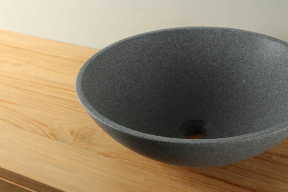 Waskom natuursteen graniet G654